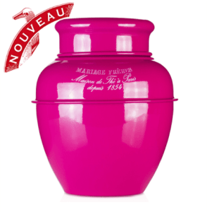 Mariage Frères| Pink Lacquered Tea Jar