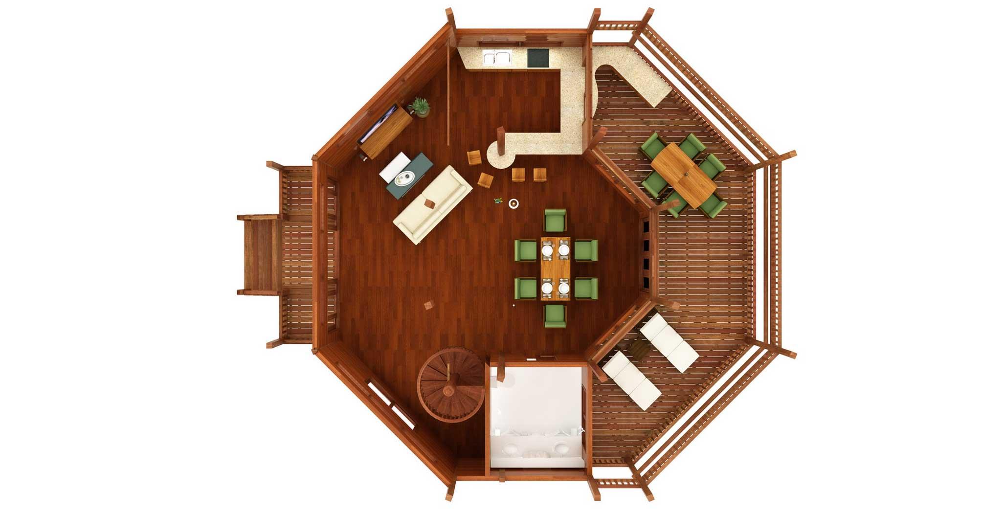 Caribbean Floor Plans