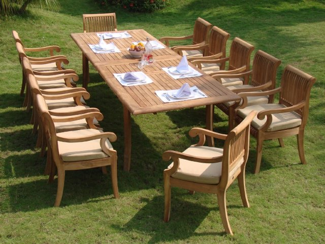 compare and choose: reviewing the best teak outdoor dining sets