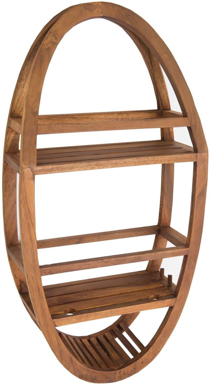 Teak Shower Caddies Naturally Water Resistant Wood Organizers Teak Patio Furniture World