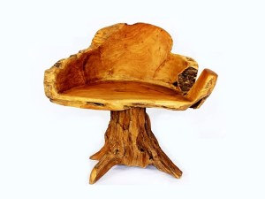 Teak Root Chair Joint