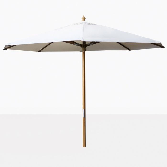 market patio umbrella white