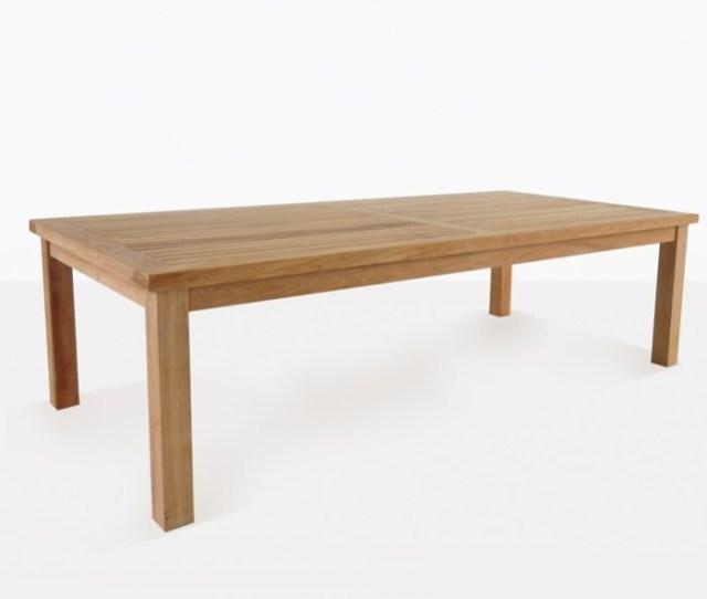Hampton Teak Outdoor Dining Tables