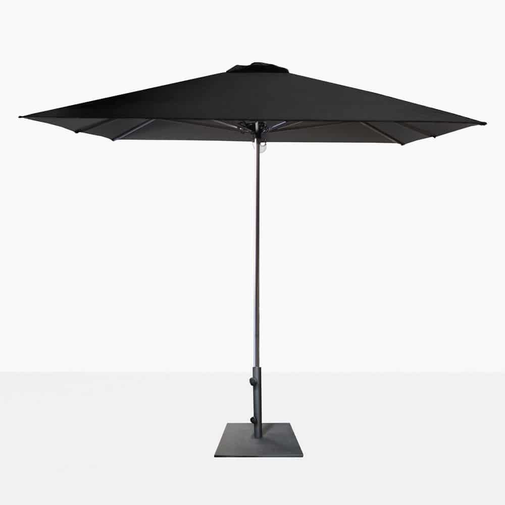 veradero patio umbrella black