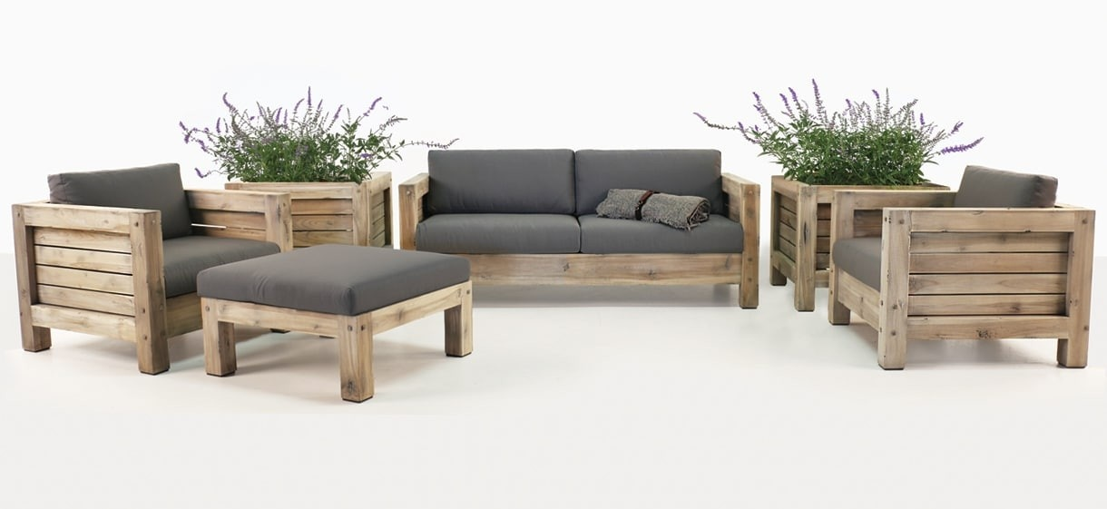 Lodge Teak Outdoor Furniture Collection
