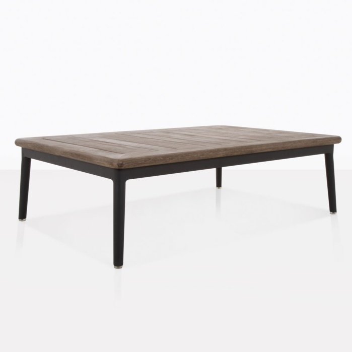 oasis outdoor rectangle coffee table