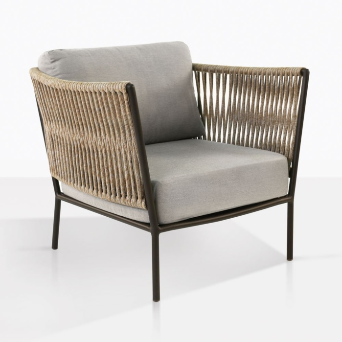 tessa rope outdoor relaxing chair