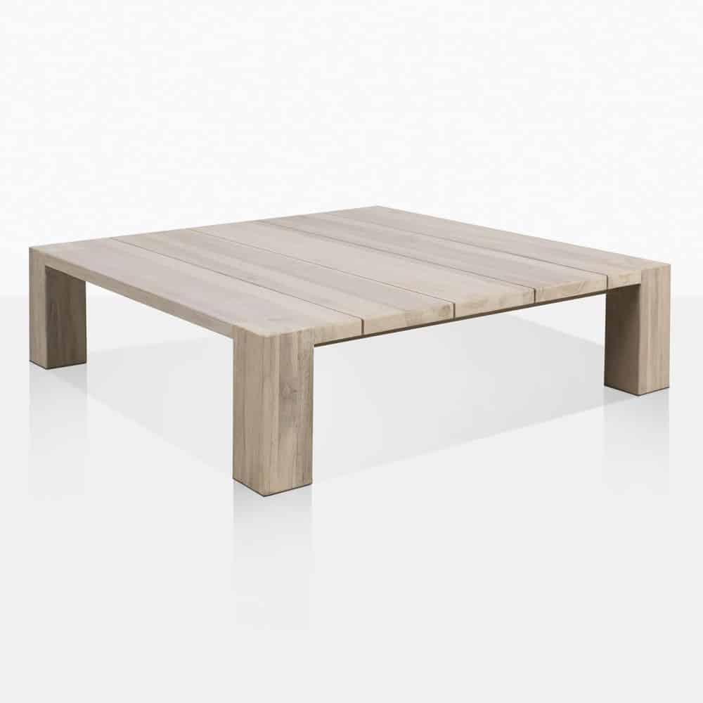 kent street teak low coffee table