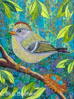 Mother Bird – 16x20 collage