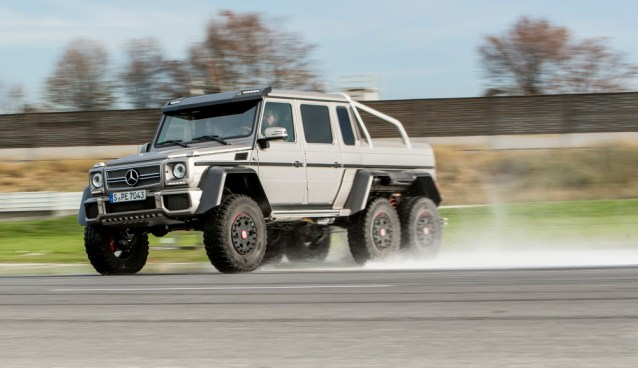 WHEELS Wednesday #5 – 6×6 Mercedes Benz AMG G63