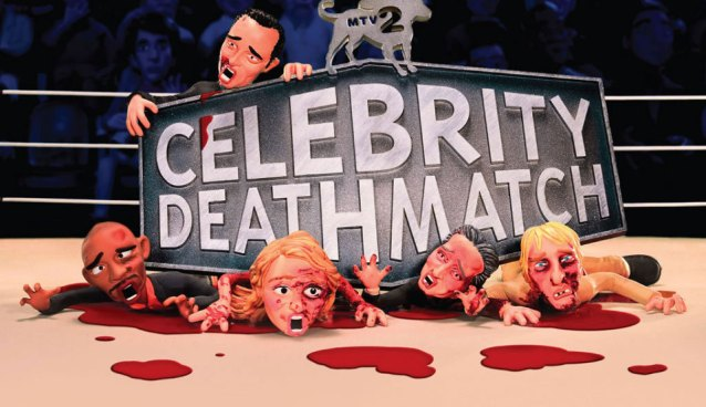 MUST SEE! Monday #30- MTV2 Bringing Back Celebrity Deathmatch!