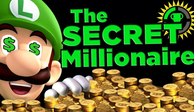 The Game Theorist: Luigi, the RICHEST Man in the Mushroom Kingdom? (Super Mario Bros)