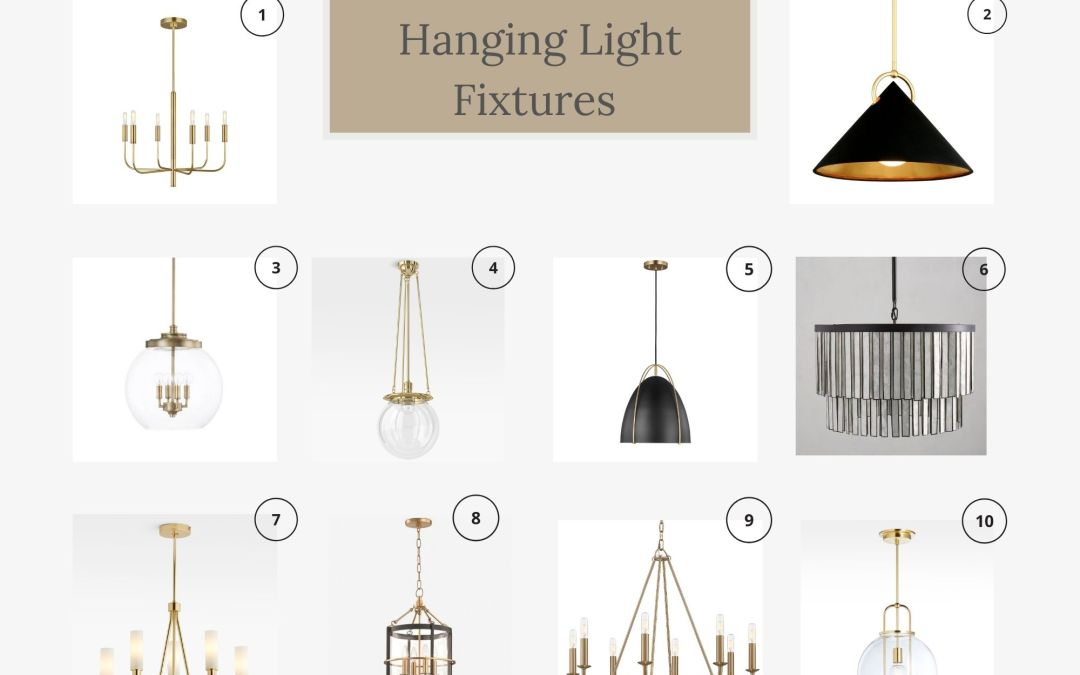 10 Beautiful Hanging Light Fixtures
