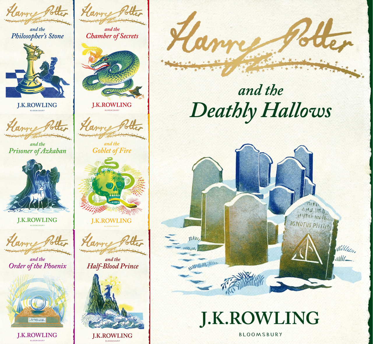 Are The New Scholastic Harry Potter Covers Worse Than The