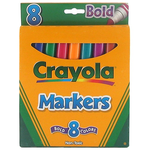 crayola bold markers
