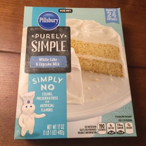 Pilsbury Pure and Simple Cake Mix