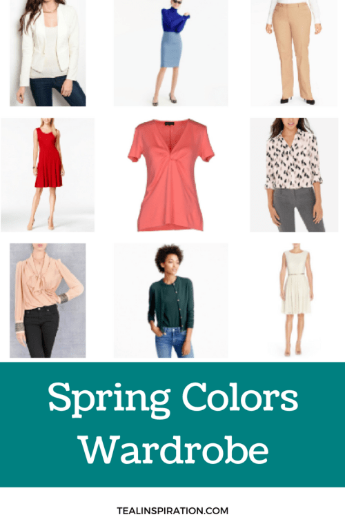 Spring Colors Wardrobe