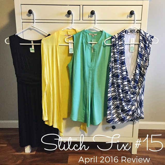 April Stitch Fix Review (#15) And a Giveaway!