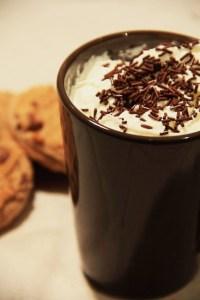 hot chocolate dessert cookies