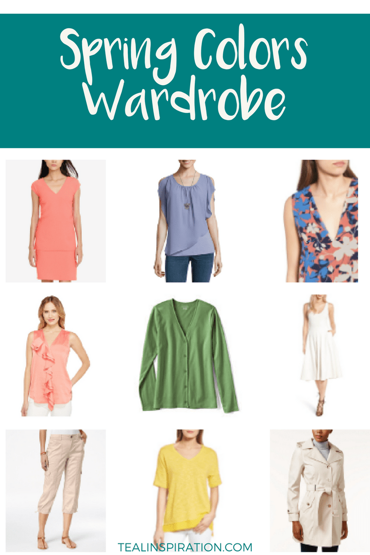 Spring Seasonal Colors Wardrobe