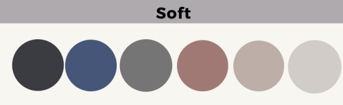 Soft & Muted
