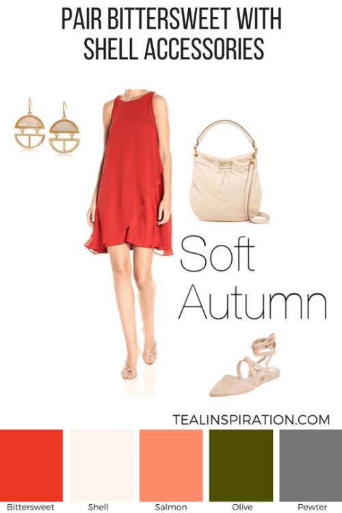 How to Wear Red if You're a Soft Autumn