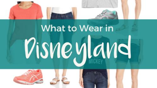 What to Wear in Disneyland