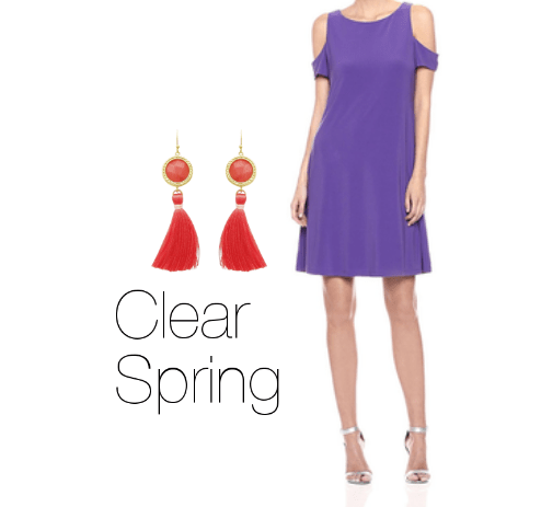 How to Wear Purple Clear Spring