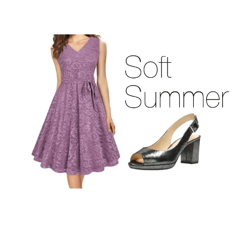 How to Wear Purple Soft Summer