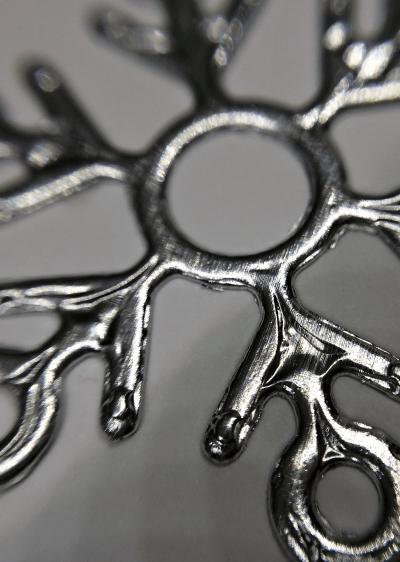 Using Aluminum Foil for Die Cuts: Snowflakes