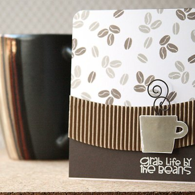 Tips on How to Make Patterned Paper with Stamps