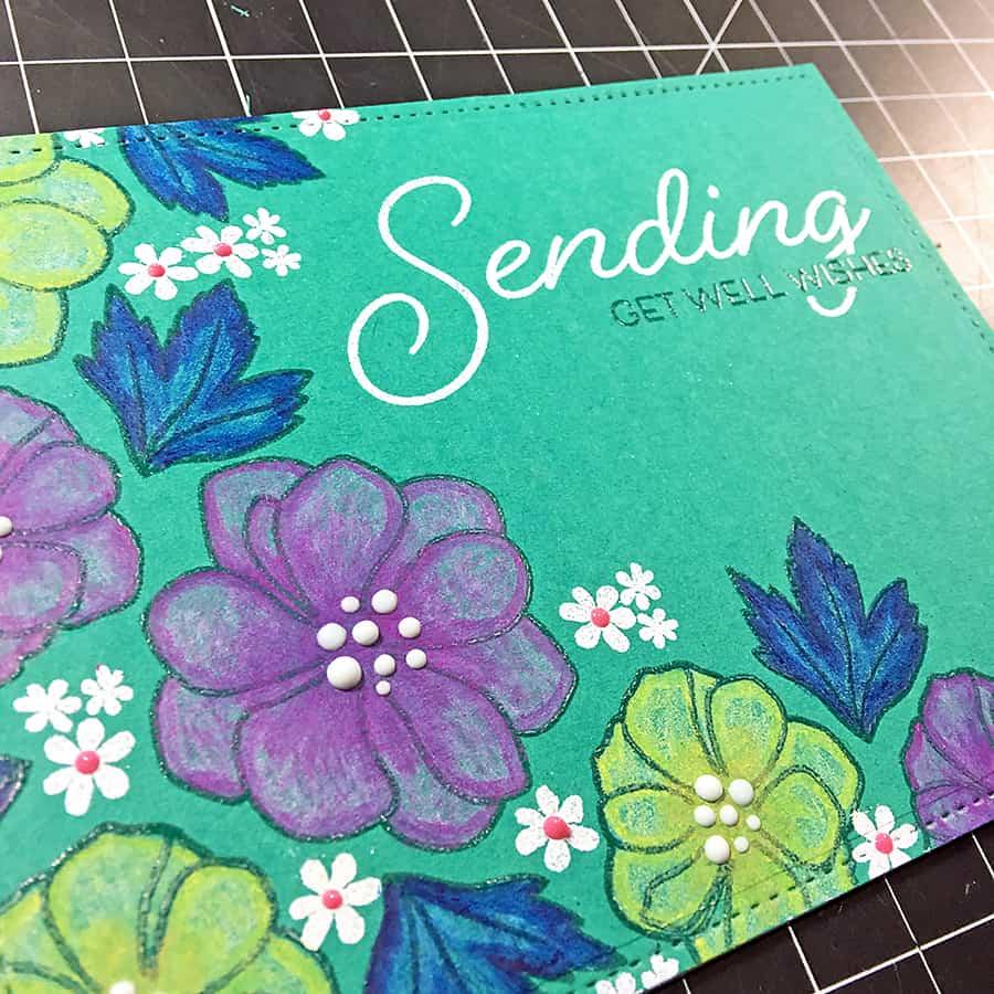 Papertrey March Blog Hop Challenge: Floral