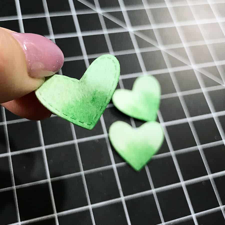 Repurposing Diecut Shapes: Hearts to Shamrocks