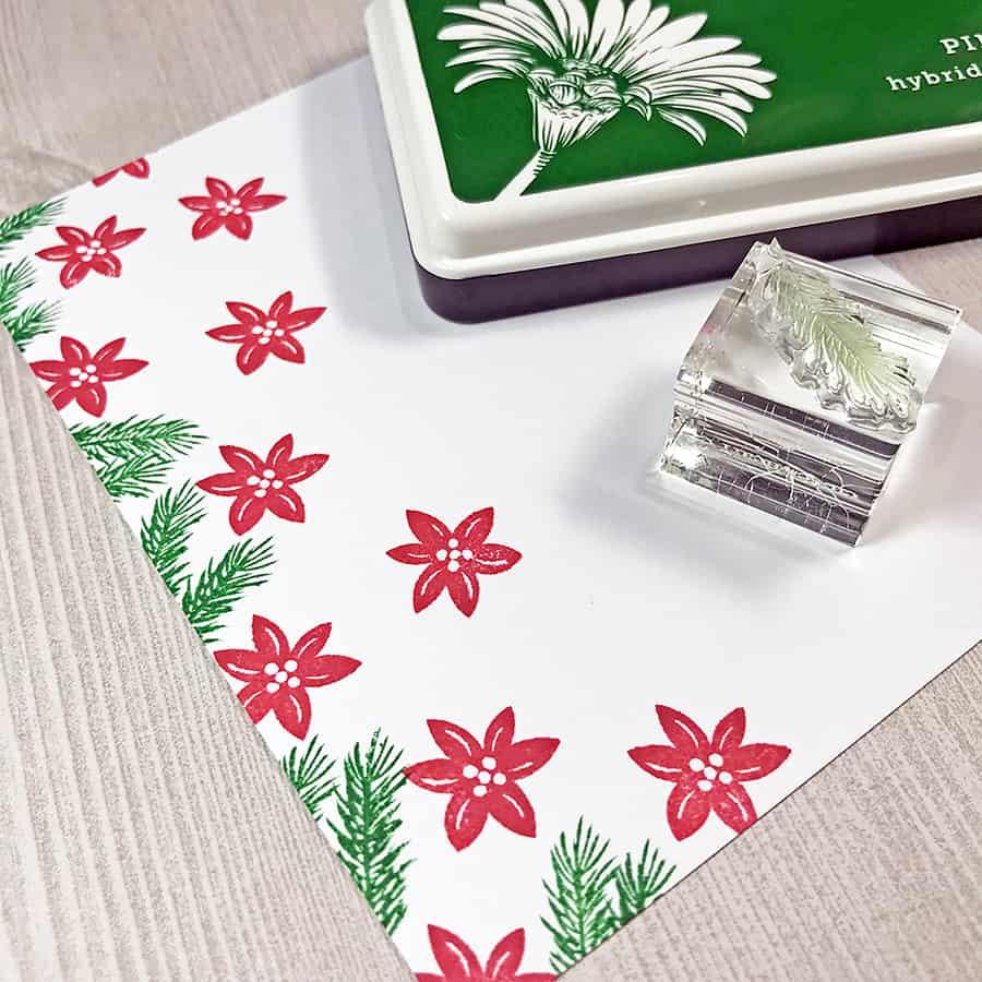 Pretty Poinsettias for the Merry Little Christmas Challenge Blog
