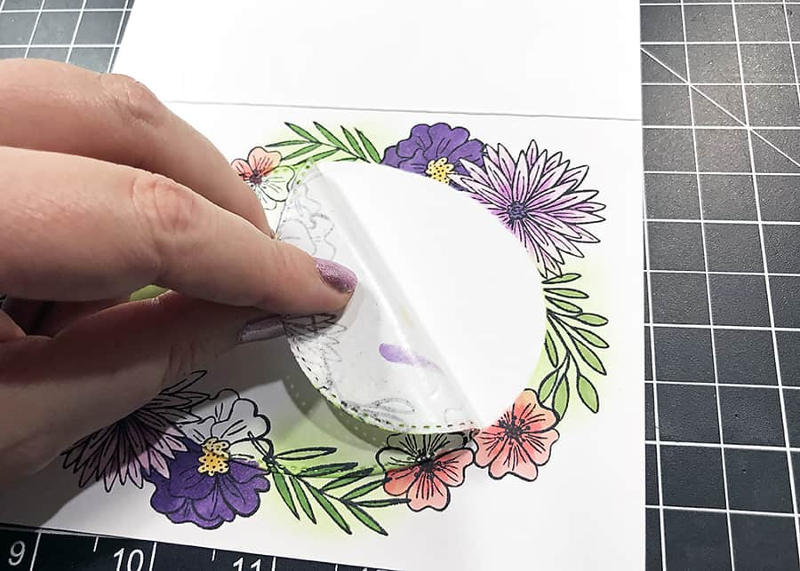 Bloom Where You Are Planted + Stamp Masking - September subscription box (The Hedgehog Hollow)