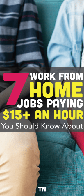Work From Home Jobs Paying $15 An Hour