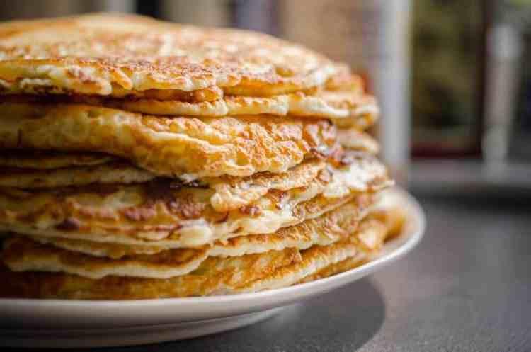 weekly meal plan, leftover mash potato pancake