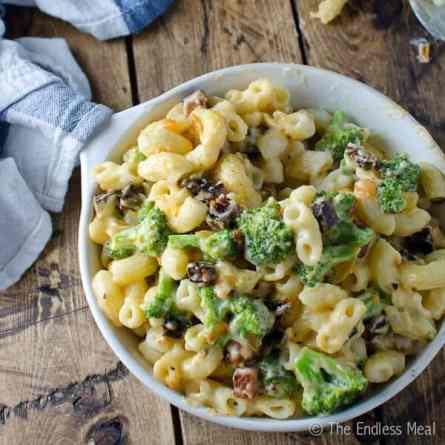 quick dinner ideas, chorizo-broccoli-macaroni-600