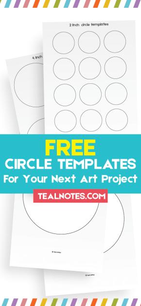 circle template, free circle template
