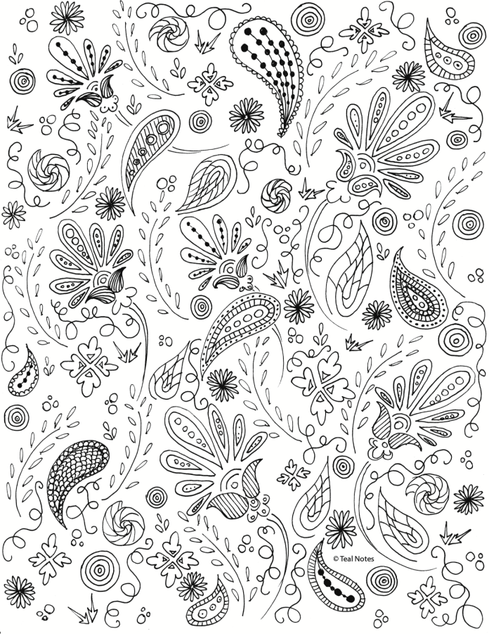 beautiful coloring page to print and color