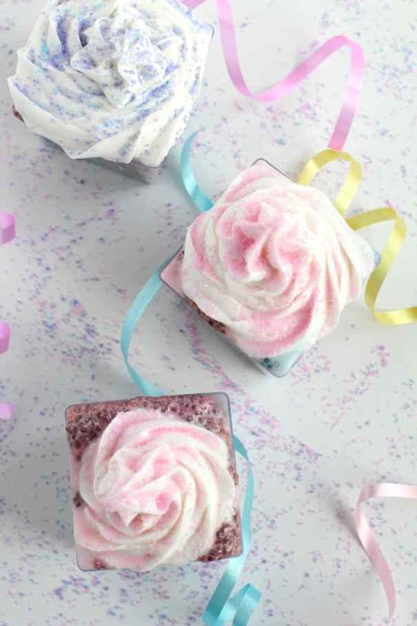 unicorn chia treats | Unicorn birthday party ideas