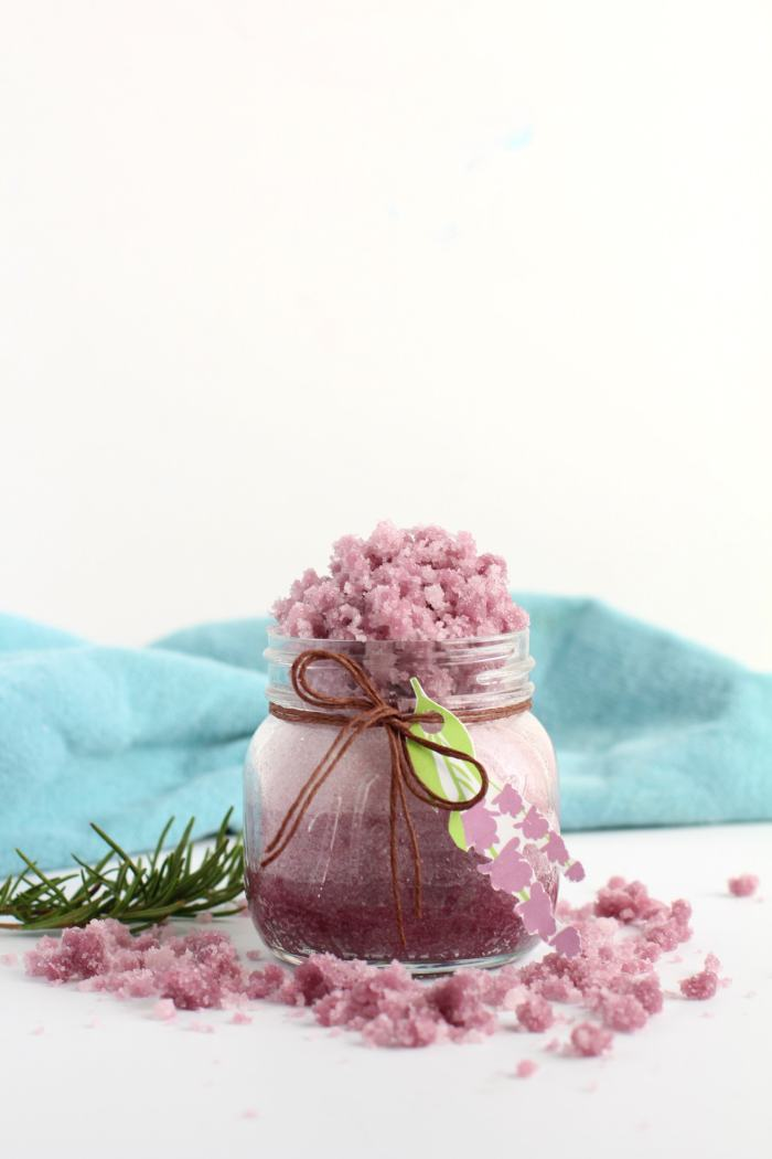 Lavender sugar scrub recipe   how to make a homemade lavender sugar scrub