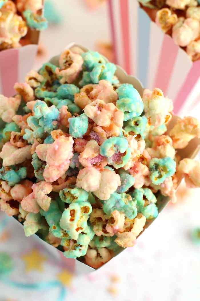 Unicorn popcorn recipe | how to make unicorn poop