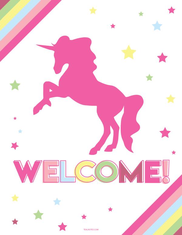 unicorn template