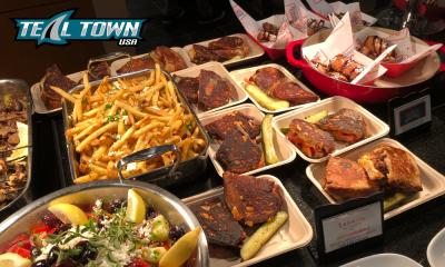 San Jose Sharks food menu