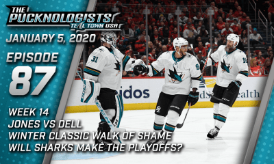 The Pucknologists EP 87 - San Jose Sharks weekly podcast