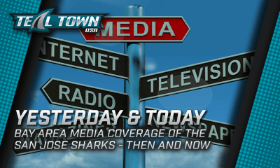 San Jose Sharks Media Coverage - Then and Now