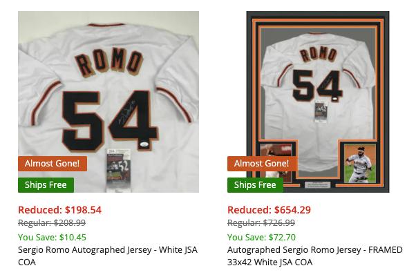 Sergio Romo duplicate