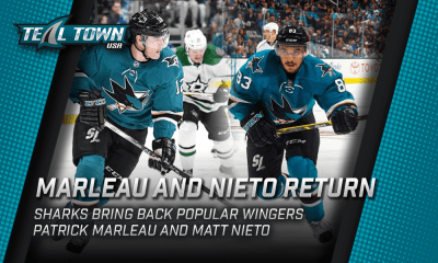 Marleau And Nieto Return to San Jose Sharks
