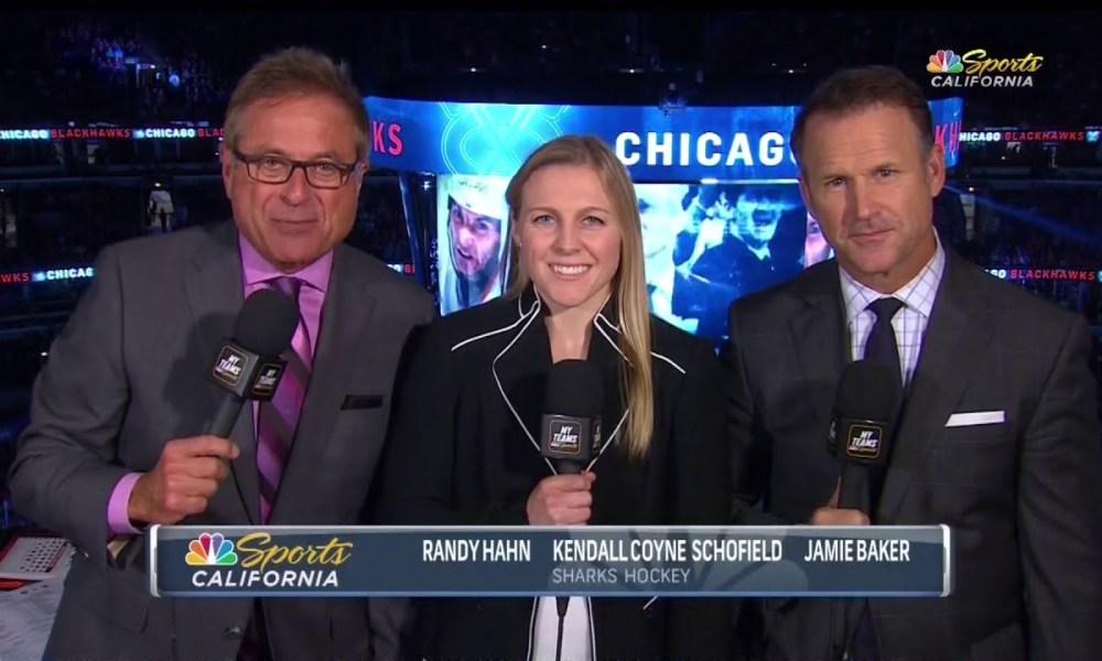 Randy Hahn, Kendall Coyne Schofield, Jamie Baker